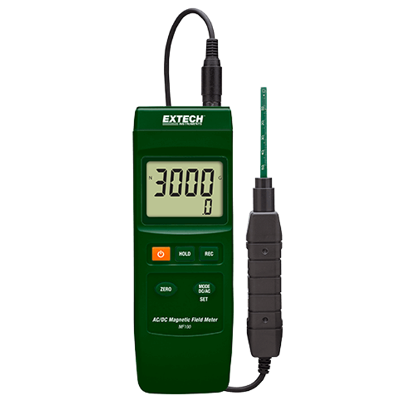 extech mf100: ac/dc magnetic field meter magnetic contactor