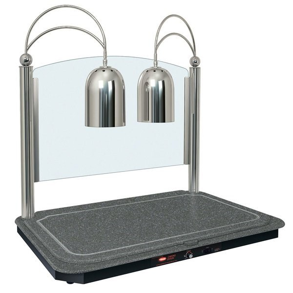 hatco dual lamp decorative carving station dcsb400-3624-2