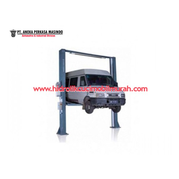 automotive lifting equipments 2 post car lift rotary atau two post lift mobil surabaya harga distributor