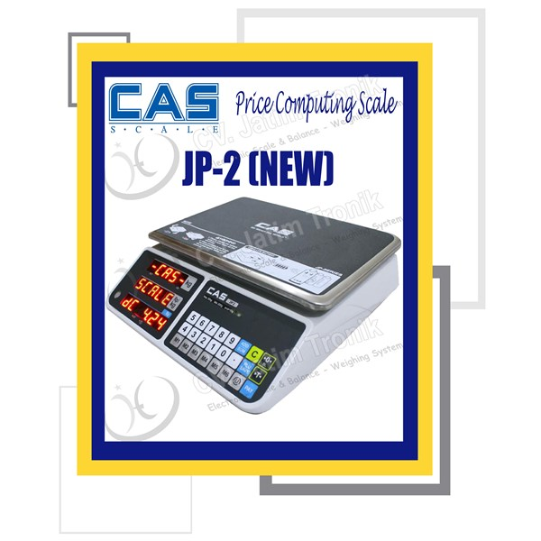 price computing scale cas jp 2-2