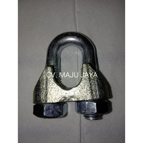 klem sling wire rope clamps kuku macan wire clip galvanis-2