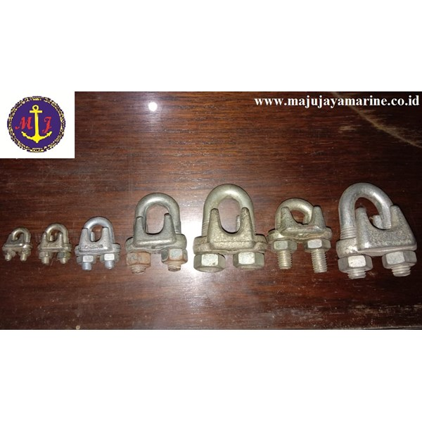 klem sling wire rope clamps kuku macan wire clip buldog-2