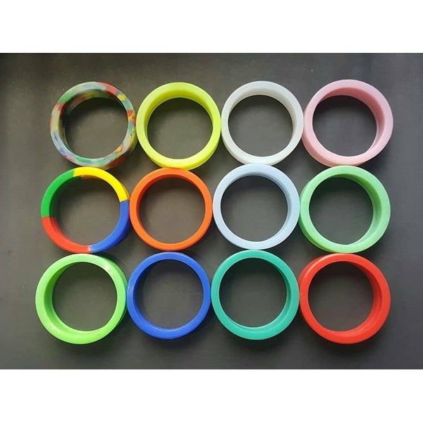 silicone bioglass bio2+ model ring-2