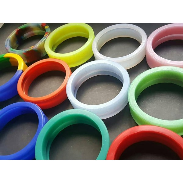 silicone bioglass bio2+ model ring-1
