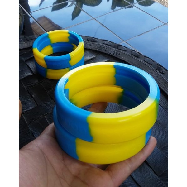 silicone bioglass bio2+ model ring-3