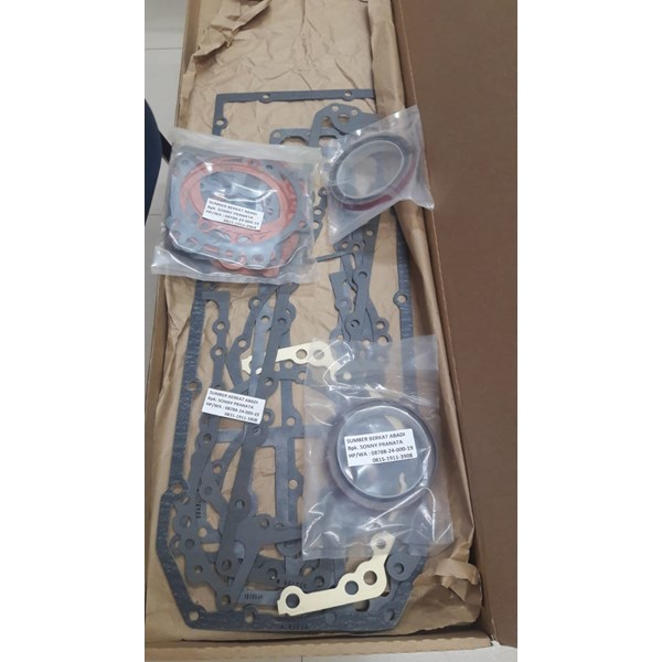 interstate mcbee m-3801659 gasket set lower engine v555-2