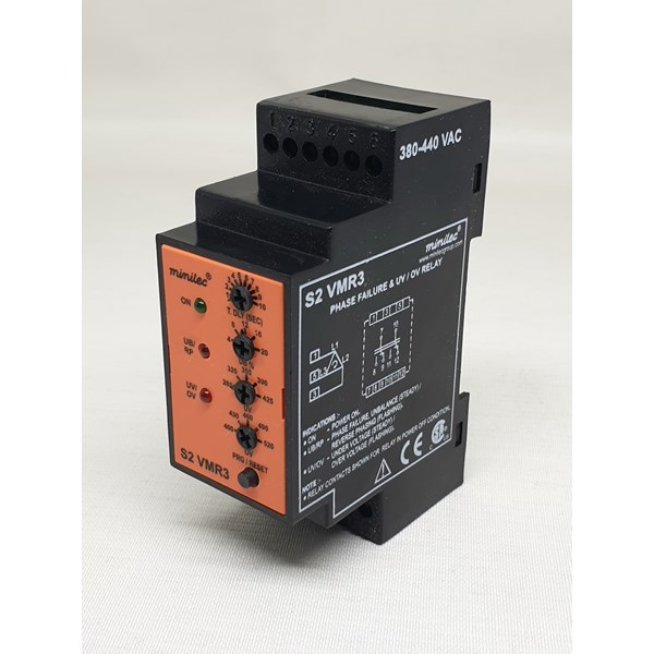minilec s2 vmr3 380-440vac phase failure relay-1