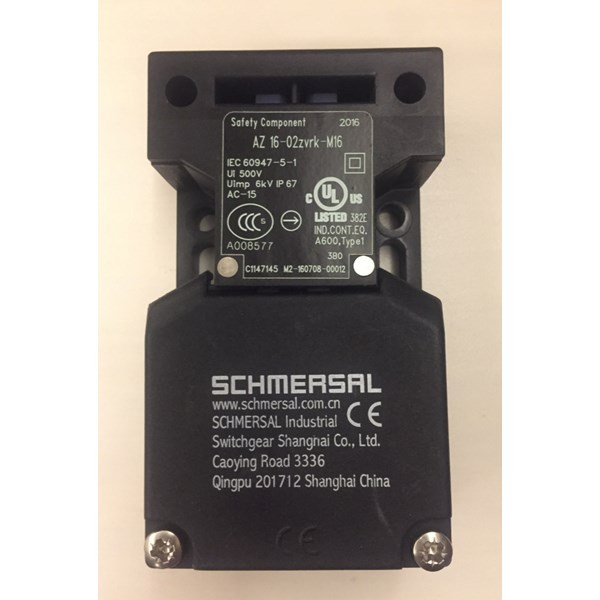 jual schmersal limit switch az 16-02zvrk-m16