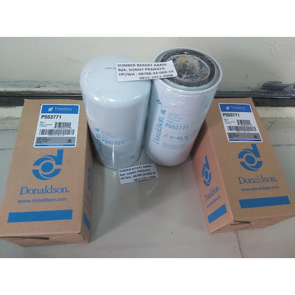 donaldson p553771 p 553771 lube filter spin-on full flow