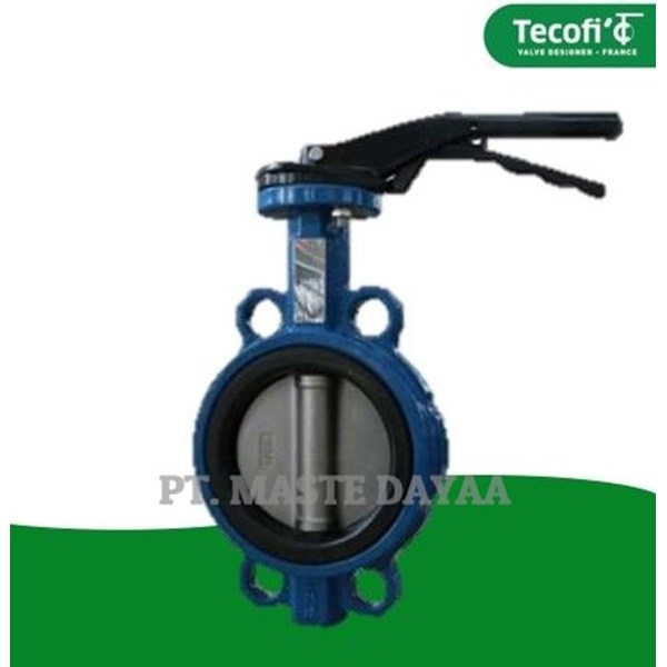 butterfly valve with handle vpe 3448-02