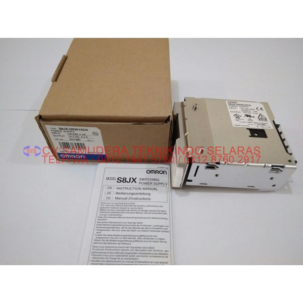 power supply omron output 15vdc 2.4a-2