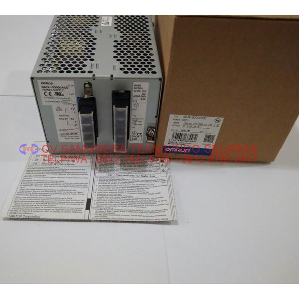 power supply omron output 15vdc 2.4a-4