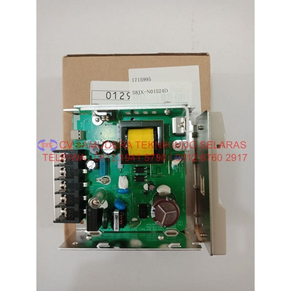 power supply omron output 15vdc 2.4a-6