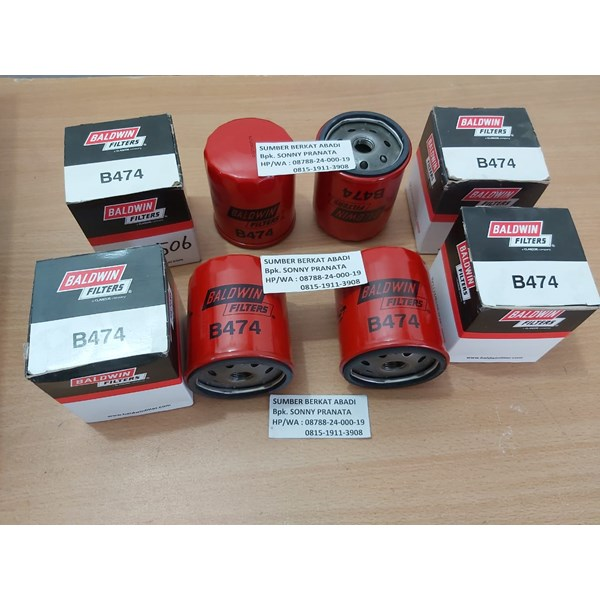 baldwin b474 full flow lube spin b 474-1