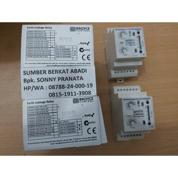 elrm44v-30 earth leakage relay broyce control-5
