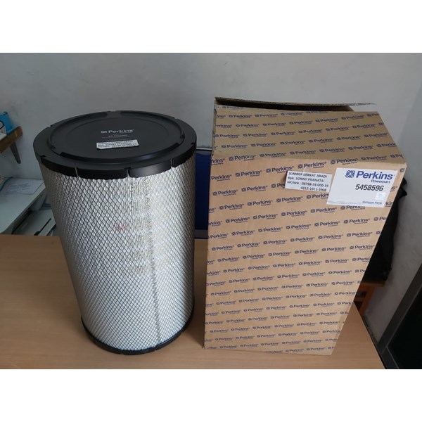 perkins ch11217 air filter 5458596 - genuine made in uk-2