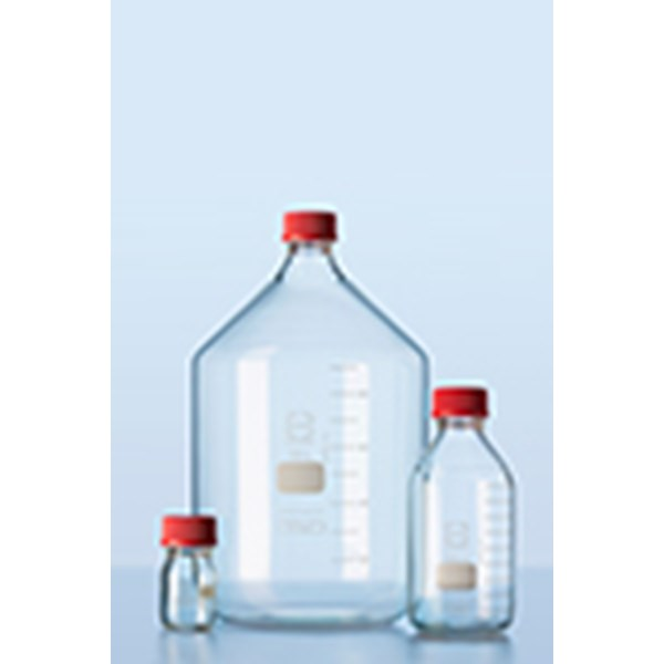 duran® original gl 45 lab bottles complete with high temperature closures botol kaca
