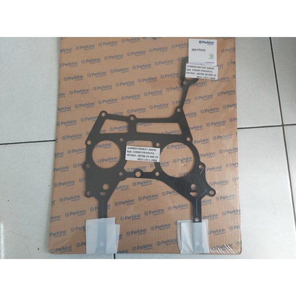 perkins 3681p053 timing case cover gasket - genuine made in uk