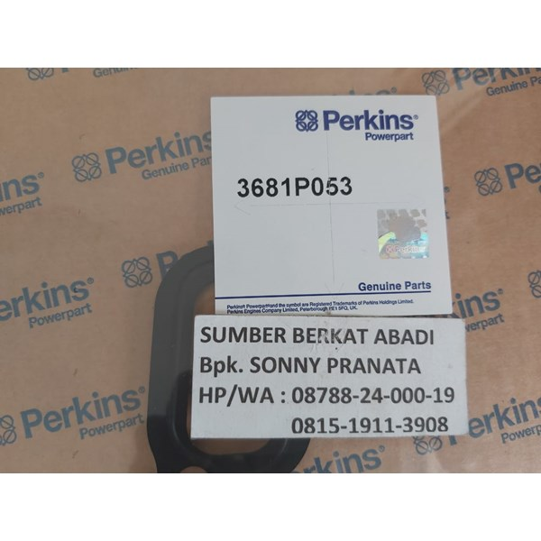 perkins 3681p053 timing case cover gasket - genuine made in uk-2