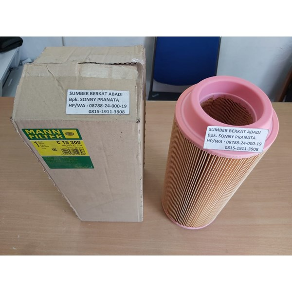 mann filter c 15 300 c15300 air filter - genuine germany-1
