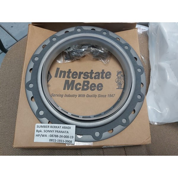 mcbee interstate m-4089544 cummins seal kit rear crankshaft-2