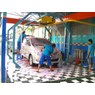 automatic car wash (cuci mobil otomatis)